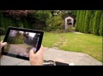 Parrot AR Drone Controlled by iPad