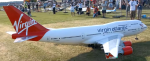 NEW BIGGEST RC AIRPLANE IN THE WORLD BOEING 747 400 VIRGIN ATLANTIC AIRLINER